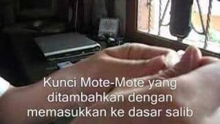 Cara membuat Salib dari Motte