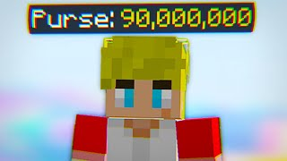 We accidentally made 90m coins (hypixel skyblock)