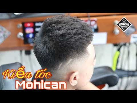 Cắt tạo kiểu mohican 2020   Hollywood barber shop