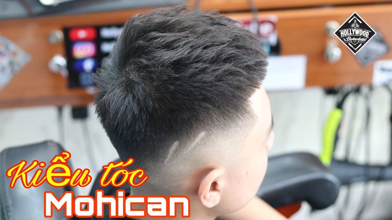 Cắt tạo kiểu mohican 2020   Hollywood barber shop   Những kiểu tóc nam dẫn đầu xu hướng