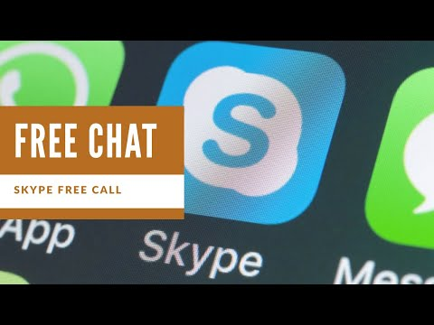 Free Video Audio Chat App For Android | Skype | How To Download And Install