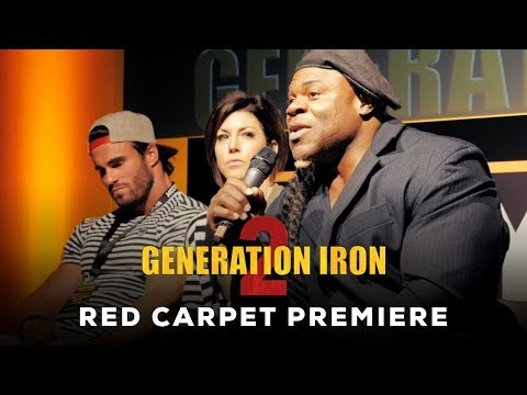 Generation Iron 2 Red Carpet Premiere Q & A | Kai Greene, Calum Von Moger, Rich Piana