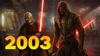 Star Wars KOTOR, Call of Duty, and Kill Bill Made 2003 Awesome for Geeks - History of Awesome