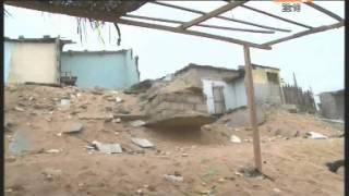 Port Bouet: La Mer menace encore les habitants installés en bordure