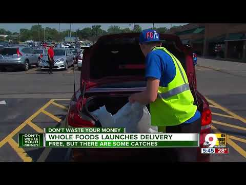 Whole Foods launches delivery