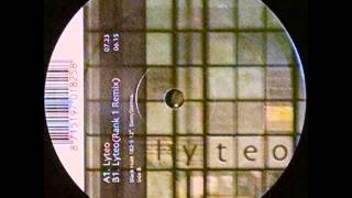 {Vinyl} Mr. Sam - Lyteo (Rank 1 Remix)
