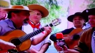 Payadores en ALMA GAUCHA | Miguel Angel Olivera y Samuel Garcilazo