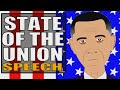 State of the Union 2015 (Cartoon) Barack Obama: Kids Response (Educational Videos for Students)