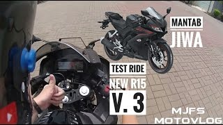 #099 - TEST RIDE R15 V3 2017