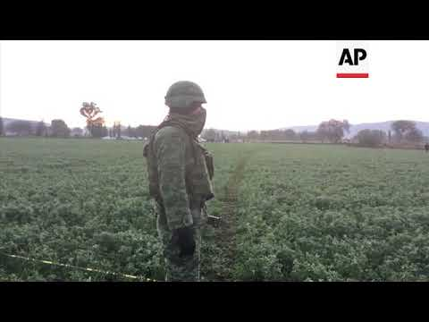 Troops at site of Mexico pipeline blast; 66 dead
