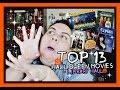 TOP 13 HALLOWEEN MOVIES + LIBRARY HAUL 🎃 VLOGOWEEN WEEK DAY 2