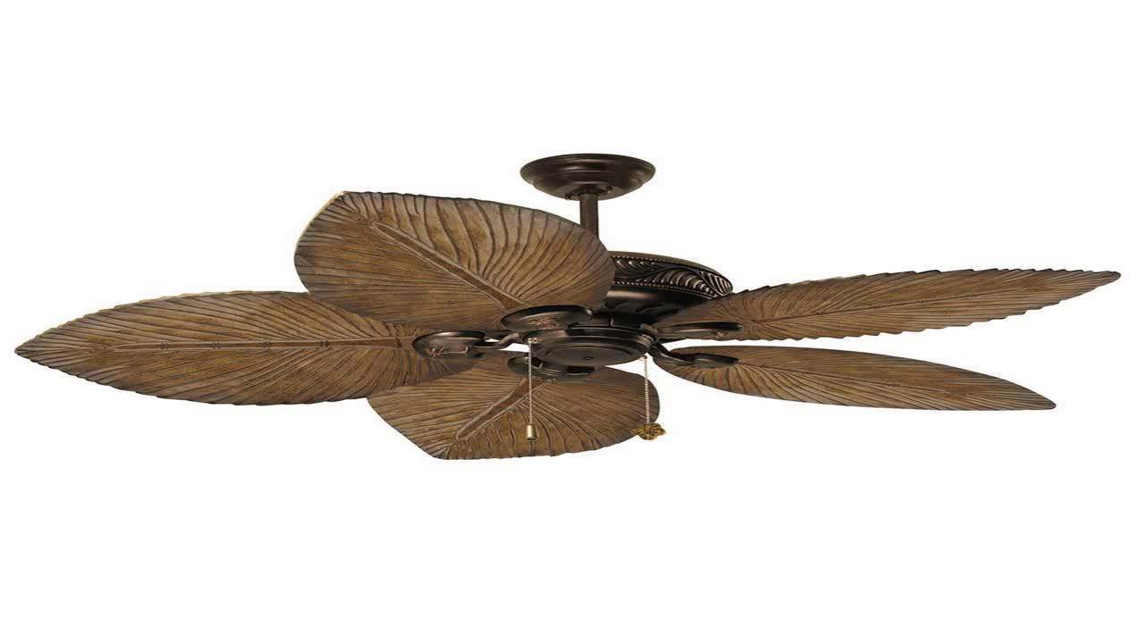 Tommy Bahama Ceiling Fans Tb135dbz Cabrillo Cove Tropical Fan