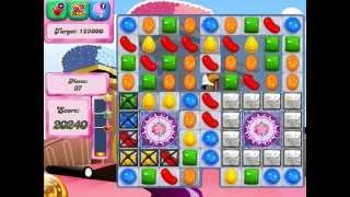 Candy Crush Saga: Level 381 (No Boosters 3★) iPad