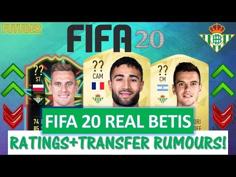 FIFA 20 | REAL BETIS PLAYER RATINGS!! FT. FEKIR, LO CELSO, MILIK ETC... (TRANSFER RUMOURS INCLUDED)