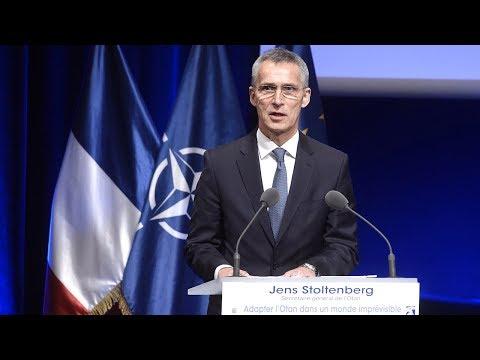 NATO Secretary General - Adapting NATO in an Unpredictable World, Part 1/2