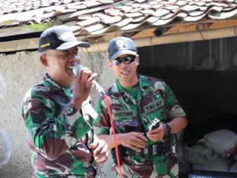 TNI KARAOKE ( CINTA HITAM ) DI SAUNG SAWAH - BOGOR