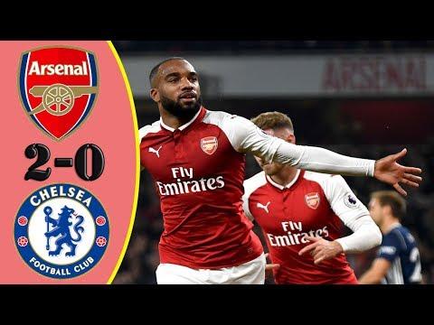 Arsenal vs Chelsea 2-2 (6-6 aggregate) - Highlights RÉSUMÉ & Goles  (Last Matches) HD