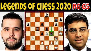 Knockout Punch sa Armageddon Game!! || GM Nepo vs. GM Anand || Legends of Chess 2020 || # 382