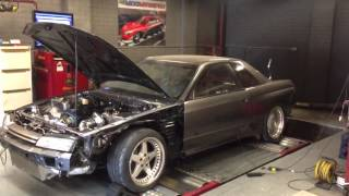 Kyle's R32 Skyline on the Dyno