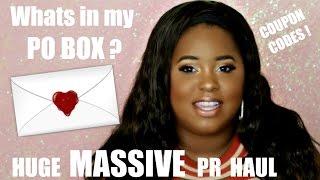 What's in my PO BOX? 💌   HUGE PR Haul 📦