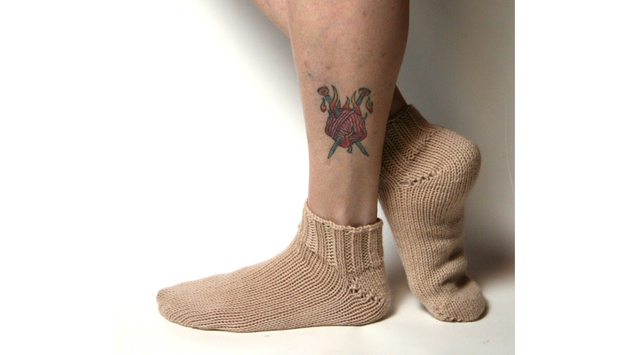 Learn to Knit Toe-Up Socks, Part 2 - YouTube
