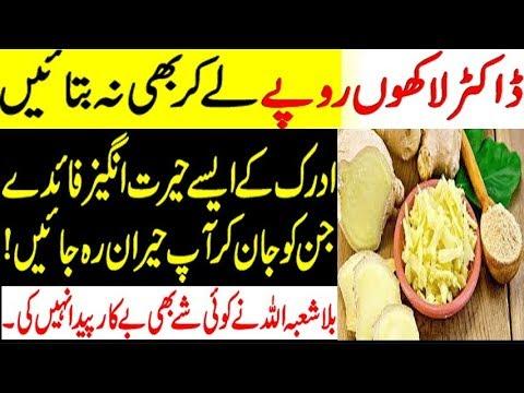 Adrak Ke Fayde Ginger Benefits In Urdu | Doctor Laco Mai Bhe Nahi Bataty | Adrak ( Ginger )Benefit