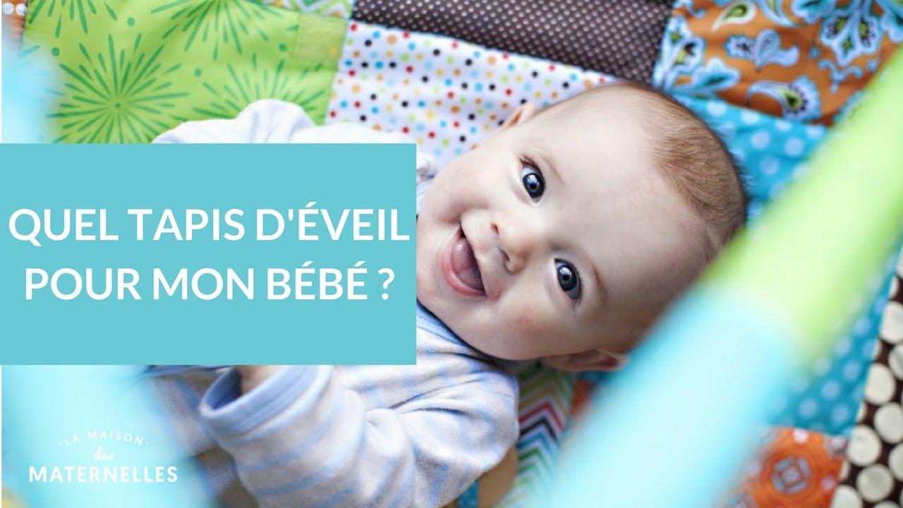 Quel Tapis Déveil Pour Mon Bébé La Maison Des Maternelles Lmdm