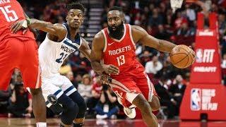 Timberwolves vs Rockets 1st Round Prediction! 2018 NBA Playoffs