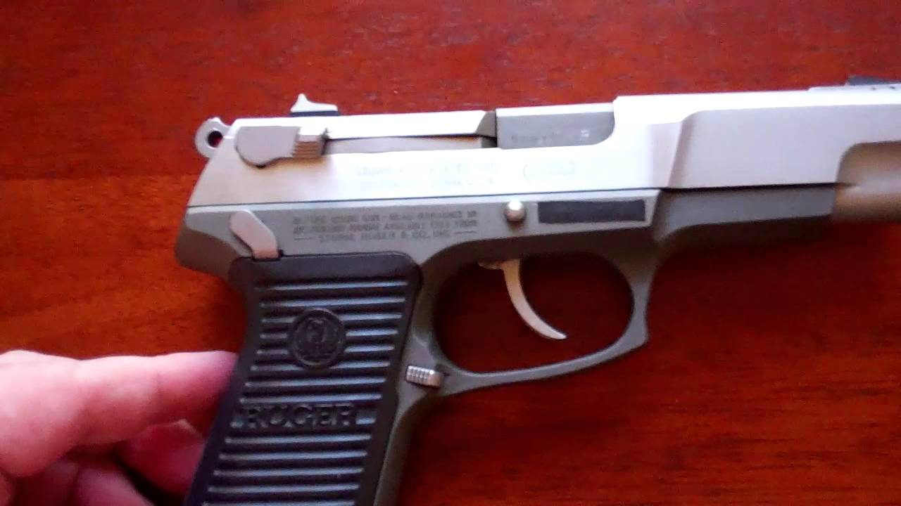 Ruger P85 Mkii The Tank 22 Year Old Classic Still Going