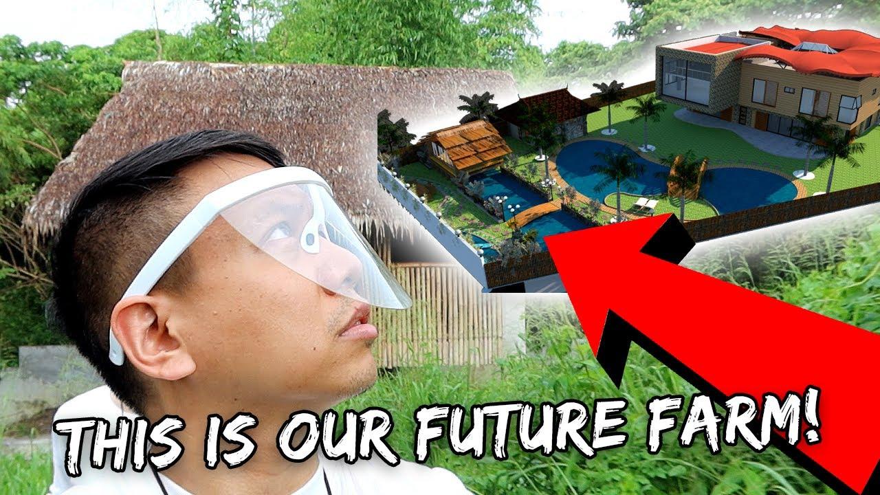 FARM HOUSE & LOT TOUR: Aviary, Swimming Pool, Fish Pond, & 'Bahay Kubo' (Bamboo Hut) | Vlog #1009