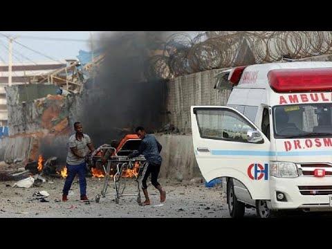 Al Shabaab claims car bomb attack in Somalia, 17 dead