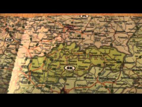 ЧЕХИЯ: Поиск на карте куда ехать дальше из Праги... Prague Czech Republic