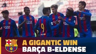 [HIGHLIGHTS] (2aB) FC Barcelona B 12 – Eldense 0