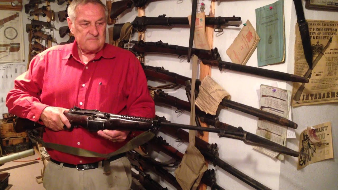 Rare Marine Model Johnson Rifle