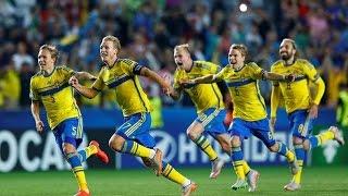 Sverige-Portugal U21 EM 2015 final - Straffläggning (Radiosportens kommentatorer)