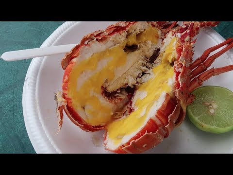 Lobster by the beach | Dream Weekend 2017| Jamaica Vlog #64