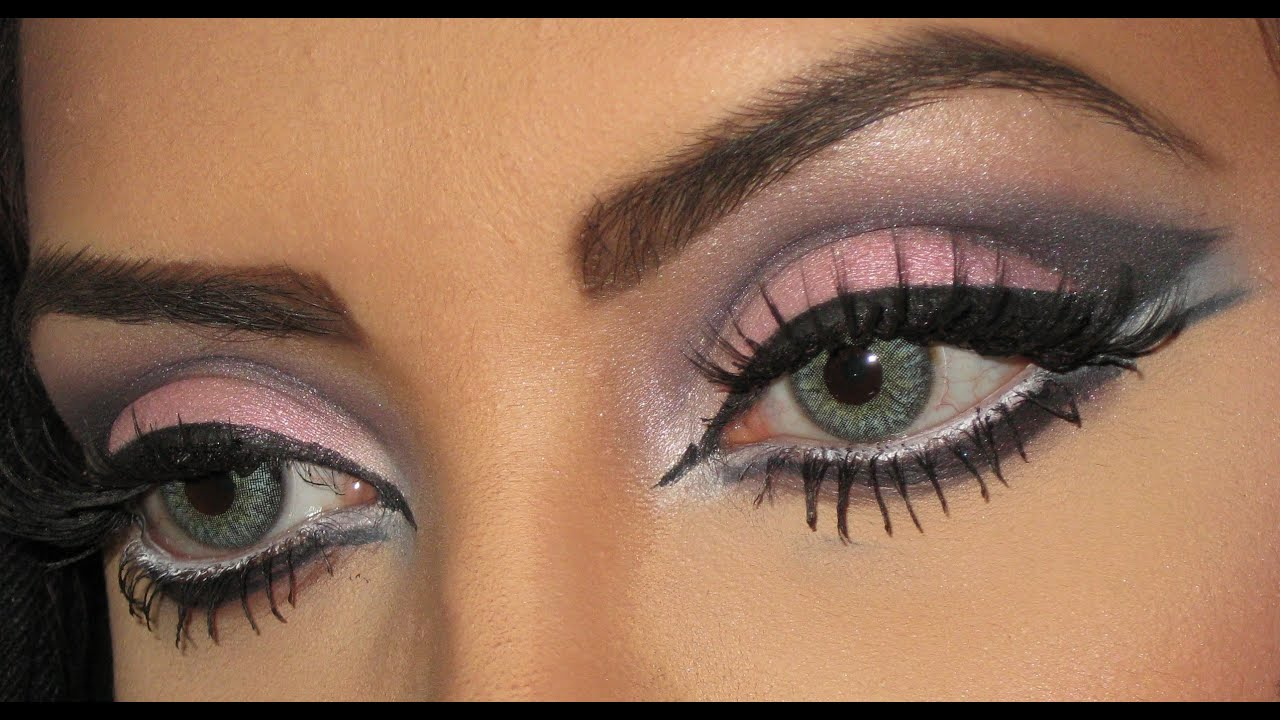 Arabic Emirati/Khaleeji Makeup - YouTube