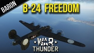 War Thunder - B-24 Delivers Freedom to the Japanese (Feat. Barry Obama)