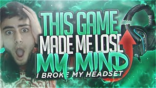 Yassuo | THIS GAME MADE ME LOSE MY MIND! (I BROKE MY HEADSET!!!)