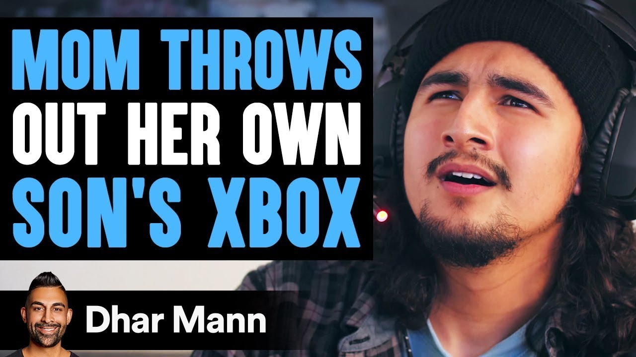 Download Mom Throws Out Her Son's Xbox, She Instantly Regrets The Decision She Made | Dhar Mann
