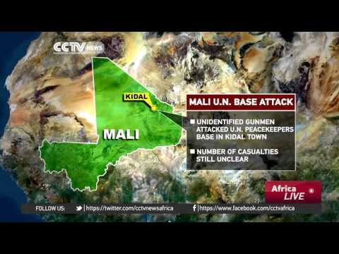 Mali U.N. base in Kidal town attacked by gunmen on Saturday