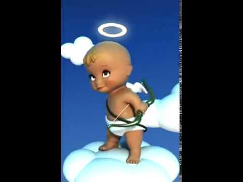 Прикольный ангелочек