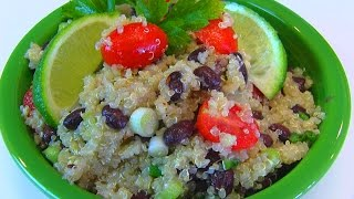 Betty's Healthy And Flavorful Quinoa Salad