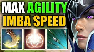 Double Attack Speed Buff with Agility Steal [Focus Fire + Penitence] Dota 2 Ability Draft