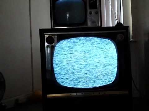 Sydney Analogue TV switch off viewed on 1956 Admiral TV. Dec 3rd 2013, 9am