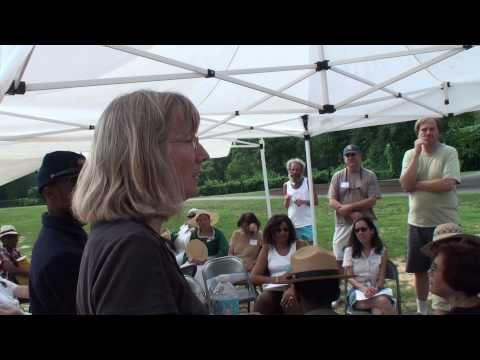Walter Pierce Park Memorial - Reading of the Names