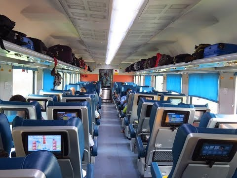 TEJAS EXPRESS :  FIRST CLASS AMENITIES & FACILITIES ONBOARD INDIA'S FIRST TEJAS EXPRESS