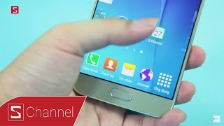 Schannel - Mở hộp Galaxy A8 màu Gold : Vẻ đẹp hấp dần từ nhôm nguyên khối