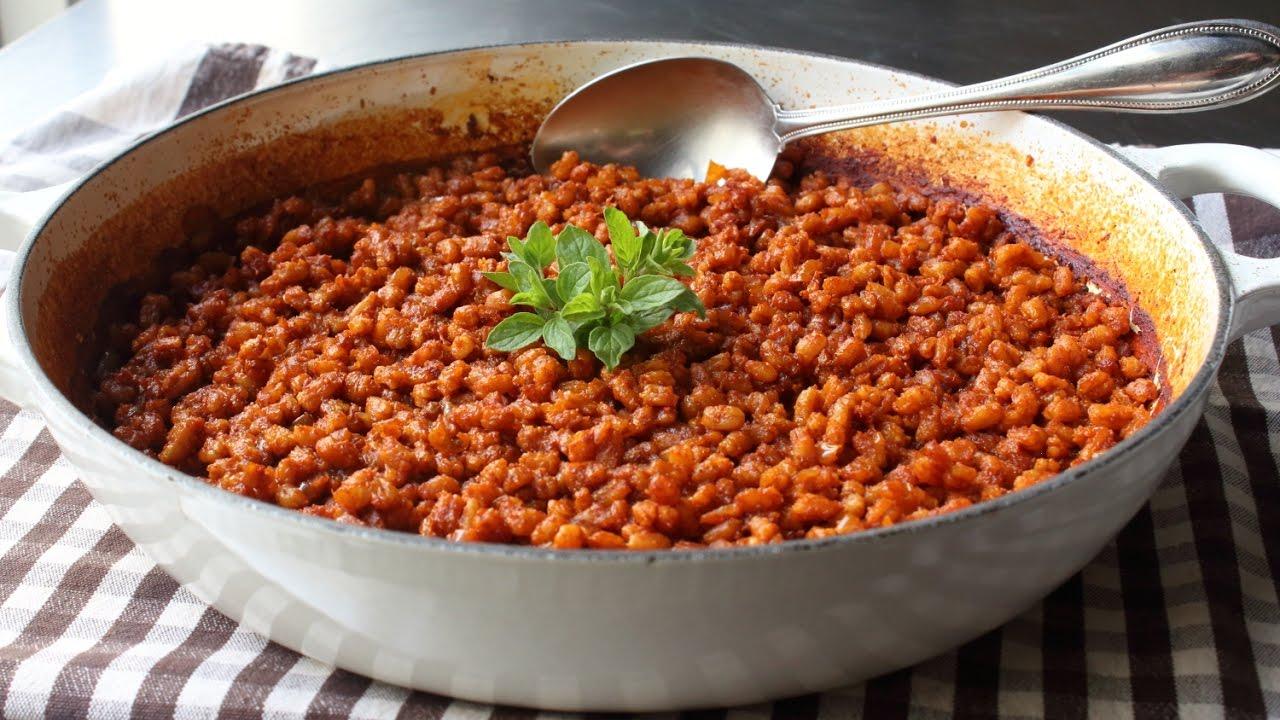 Spanish farro recipe how to make spanish rice with farro youtube forumfinder Choice Image