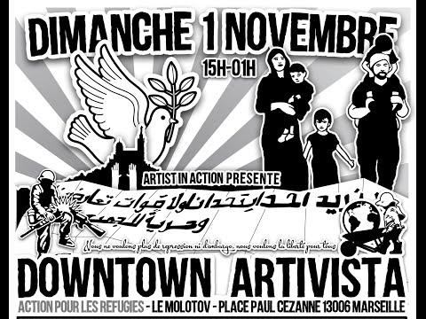 DOWNTOWN ARTIVISTA: Action pour les réfugiés - Artists in Action